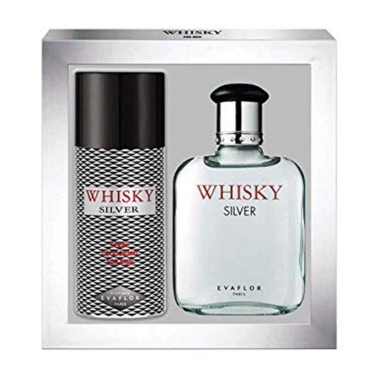 Whisky Silver for Men Parfüm Díszdoboz Férfiaknak
