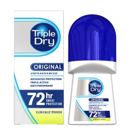 Triple Dry Izzadsággátló Golyós Deo 50ml