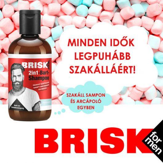 Brisk Szakáll Sampon 150ml