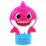 Baby Shark 3D Tusfürdő és Sampon Pink 350ml