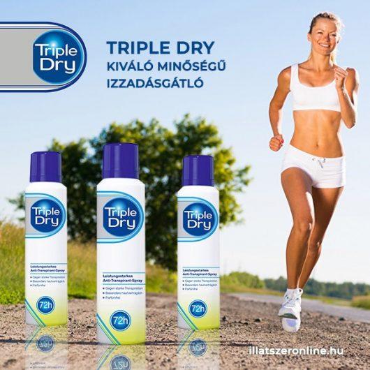 Triple Dry Izzadsággátló Dezodor 150ml