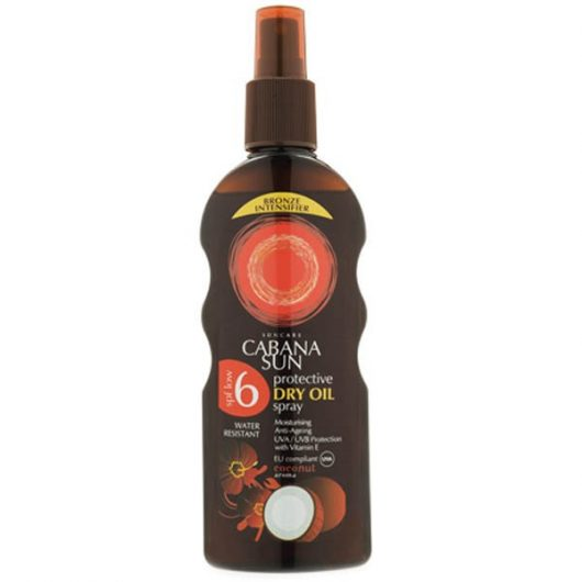 Caban Sun Száraz Napolaj Spray SPF06 200ml