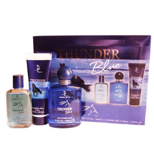 Dorall Thunder Blue 3 Részes Díszdoboz Férfiaknak