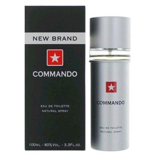 New Brand Commando EdT Férfi Parfüm 100ml