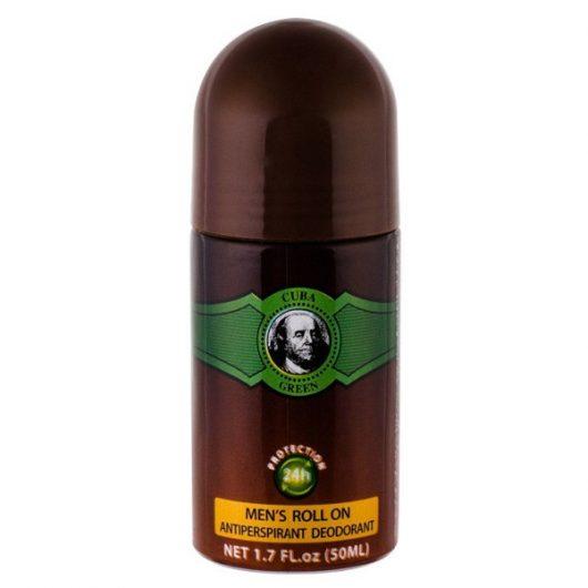 Cuba Green Roll-on 24h Alkoholmentes Golyós Deo 50ml