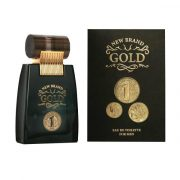 New Brand Gold Men EdT Férfi Parfüm 100ml