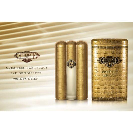 Cuba Prestige Legacy For Men EdT Férfi Parfüm 90ml