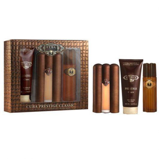 Cuba Prestige Classic Díszdoboz Férfiaknak (Parfüm-After Shave-Shower Gel)