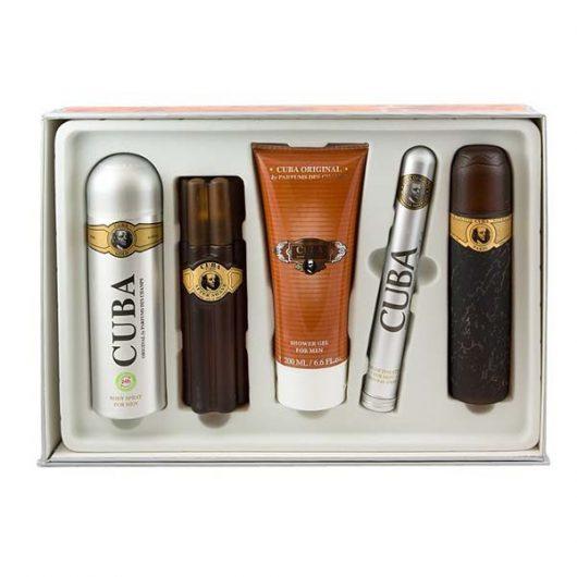 Cuba Gold Parfüm Kollekció 5db-os Díszdoboz Férfiaknak