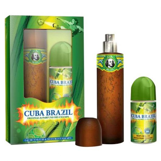 Cuba Brazil Duo Parfüm Díszdoboz Férfiaknak