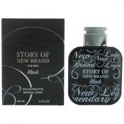 New Brand Story of New Brand Black EdT Férfi Parfüm 100ml