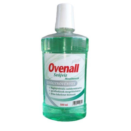 Ovenall Plusz Gyógynövényes Szájvíz 500ml