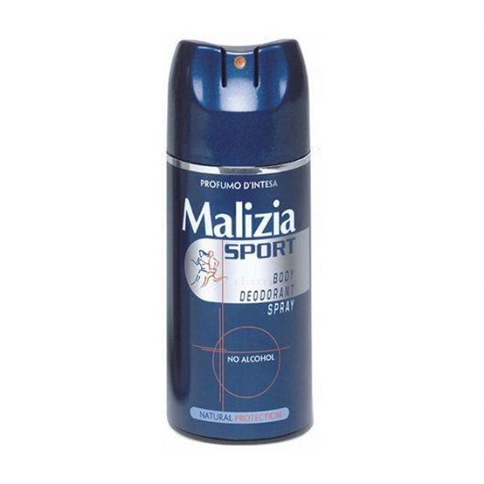 Malizia Sport Deo No Alcohol Unisex Dezodor 150ml
