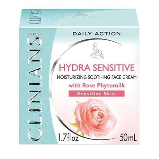 Clinians Hydra Sensitive Hidratáló Arckrém Érzékeny Bőrre 50ml