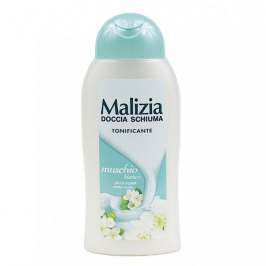 Malizia Fehér pézsma Tusfürdő 300ml