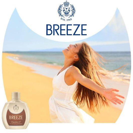 Breeze Classico 67 Aluminium Mentes Parfüm Deo Squeeze 100ml
