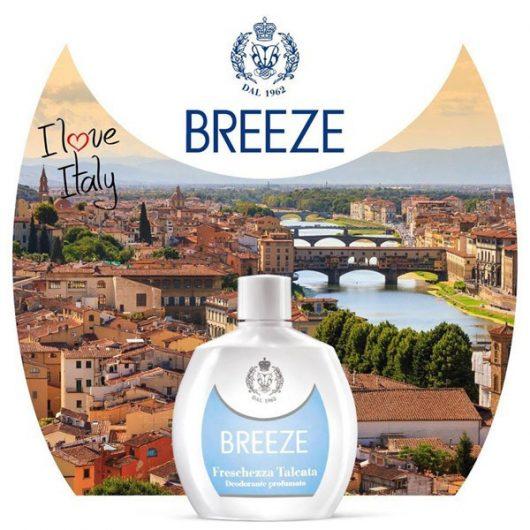 Breeze Freschezza Talcata Parfüm Deo Squeeze 100ml
