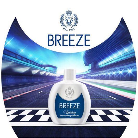 Breeze Sporting Aluminium Mentes Parfüm Deo Squeeze 100ml
