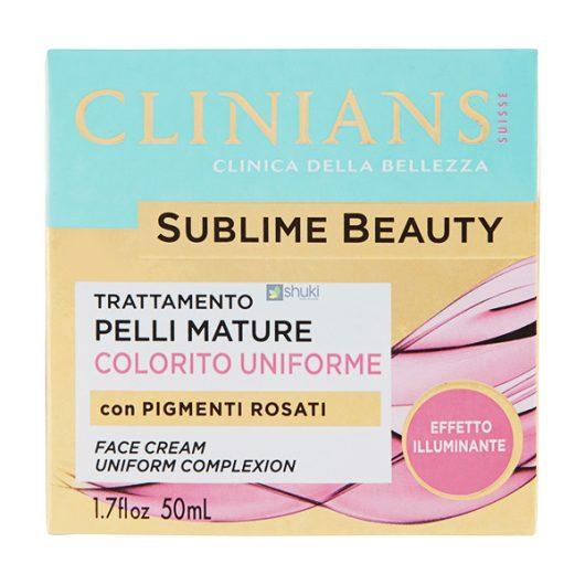 Clinians Sublime Beauty Arckrém Rózsaszín Pigmentekkel