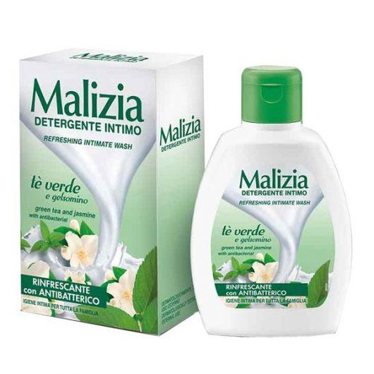 Malizia Zöld Tea és Jázmin Kivonatos Intim Szappan 200ml