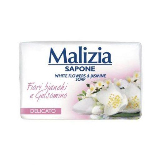 Malizia Szappan Fehér Virág és Jázmin Illattal 90gr