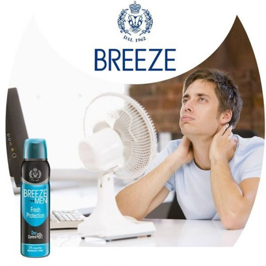 Breeze Men Fresh Protection Aluminium Mentes Deo 150ml