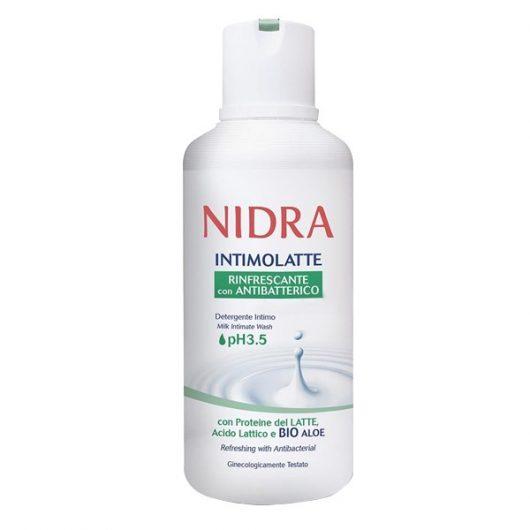 Nidra Antibakteriális Intim Szappan Bio Aloeval 500ml