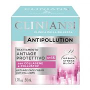 Clinians Antipollution Arckrém Kollagénnel 50ml