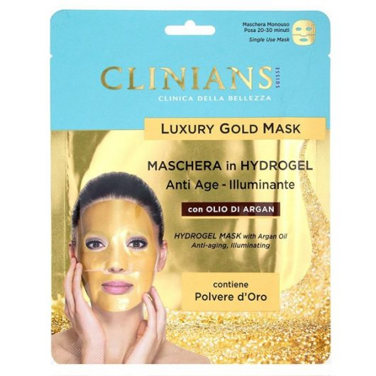 Clinians Luxury Gold Hydrogel Arcmaszk Argán Olajjal 25ml