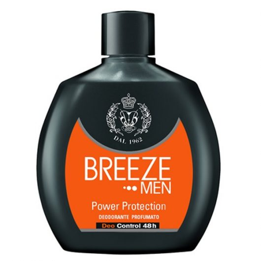 Breeze Men Power Protection Parfüm Deo Squeeze 100ml