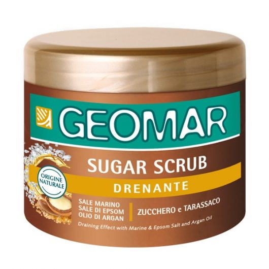Geomar Sugar Scrub Cukor és Pitypang Bőrradír 600g