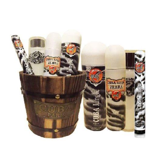 Cuba Zebra Parfüm Diszcsomag Nőknek Dézsában
