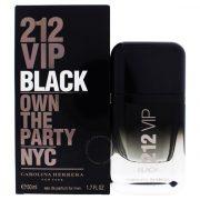 Carolina Herrera 212 VIP Black Men EdP 50ml Férfi Parfüm