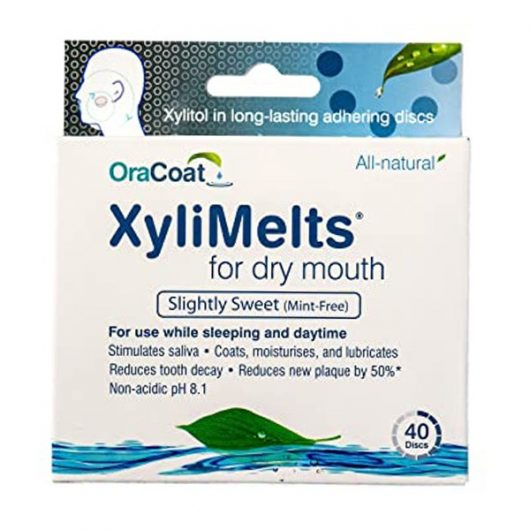 XyliMelts for Dry Mouth Mint-Free Tabletta
