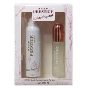 U.S. Prestige White Crystal Parfüm Díszdoboz Hölgyeknek