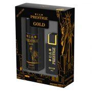 U.S. Prestige Gold Parfüm Díszdoboz Férfiaknak